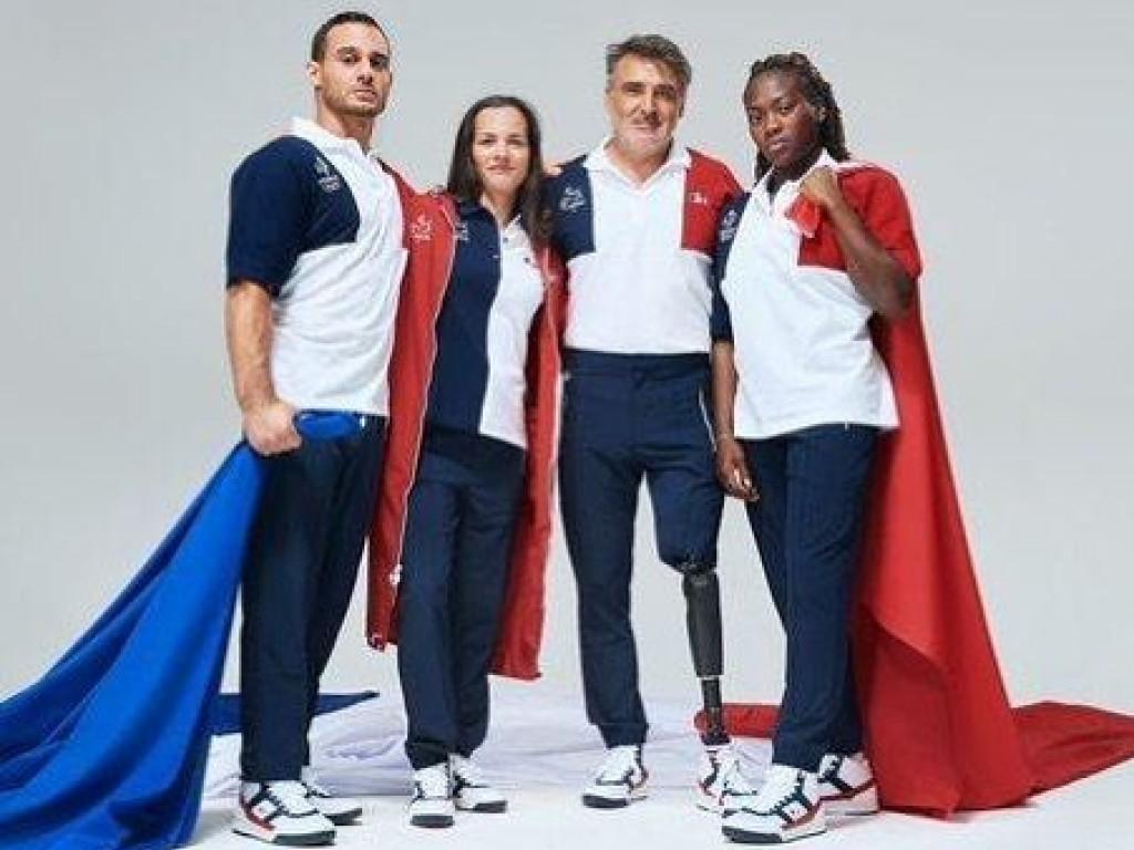 Image de l'actu 'Sandrine Porte-Drapeaux  aux Jeux Paralympiques !!!'